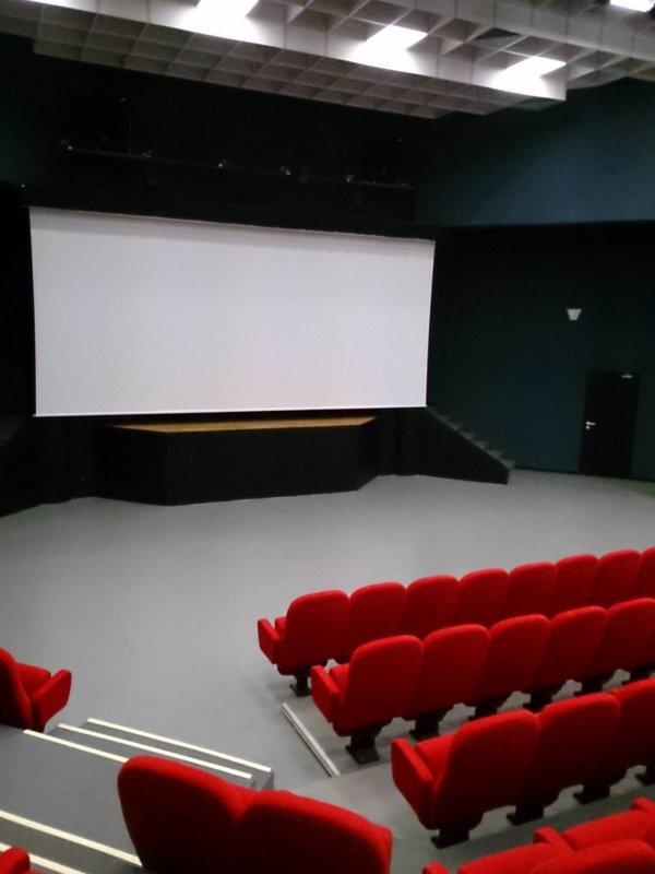 La salle Amphithéâtre de l'Espace Culturel