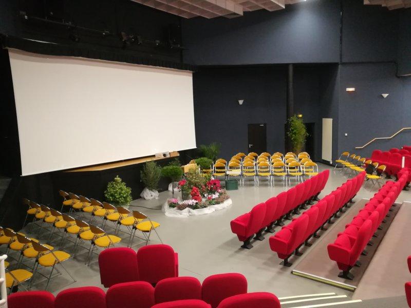 Salle Amphithéâtre de l'Espace Culturel