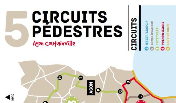 Circuits pédestres