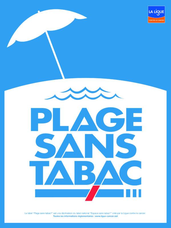 Rappel : Plage sans tabac, du Passous à La Plancha