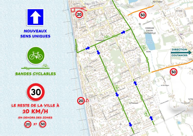 Nouveau plan de circulation