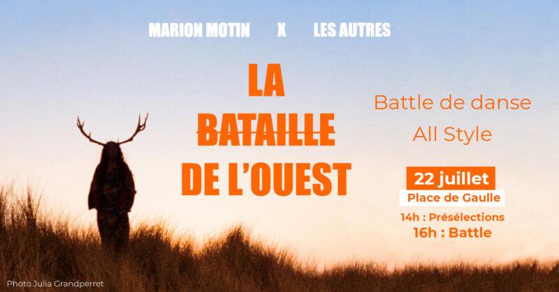 Battle danse : «La bataille de l'Ouest «