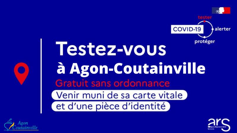 Covid-19 : Testez-vous à Agon-Coutainville