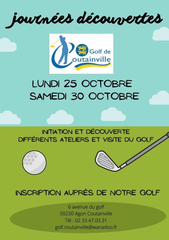 Golf : Journée découverte